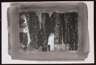 cartolina nero 2004